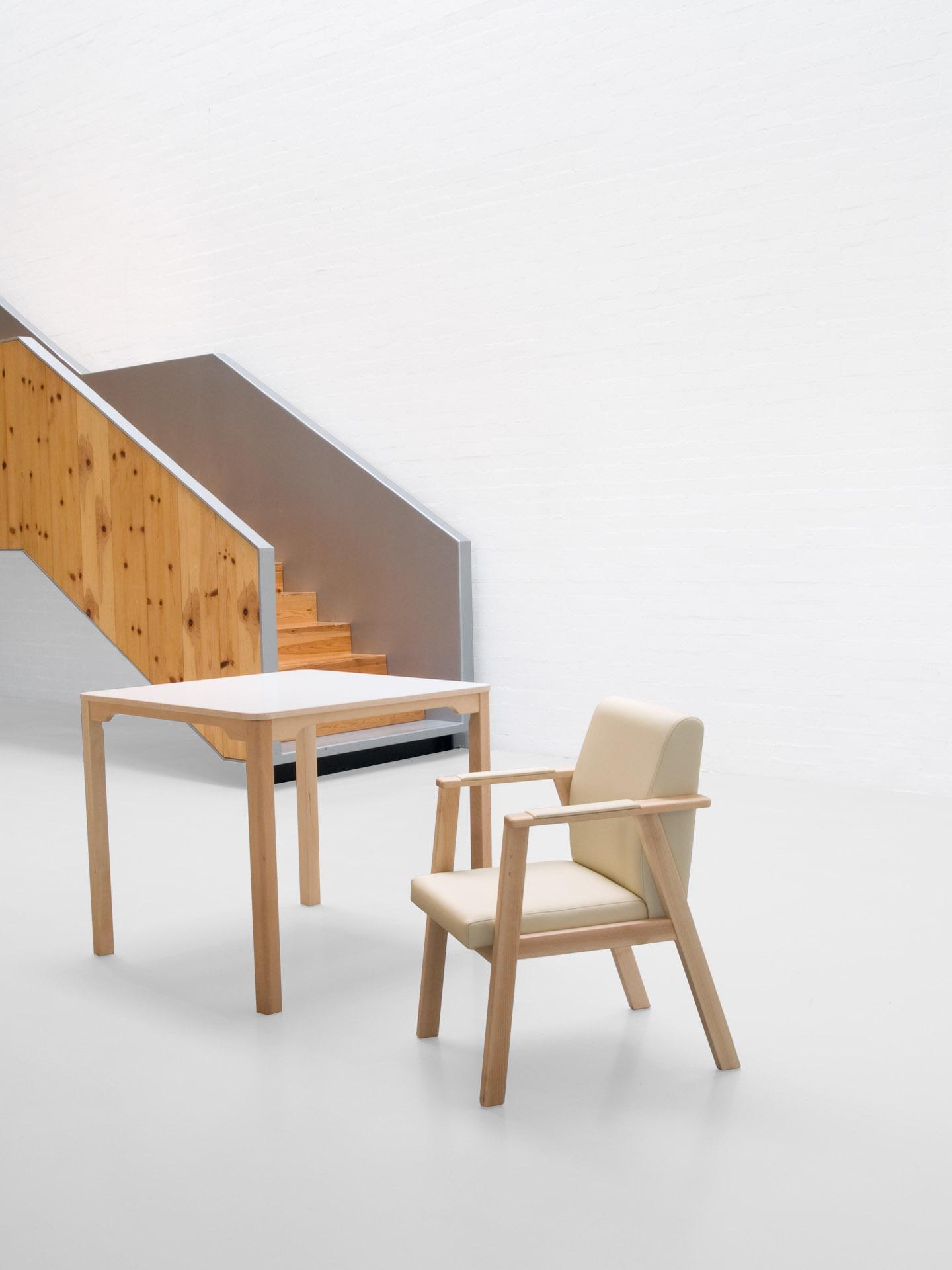 Mobiliario adaptado para personas dependientes de la colección DANTE