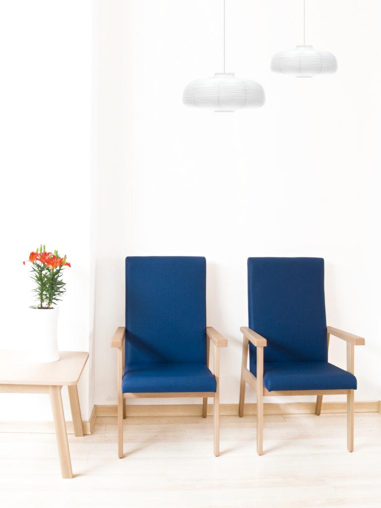 Muebles ergonómicos para el equipamiento de residencias geriátricas