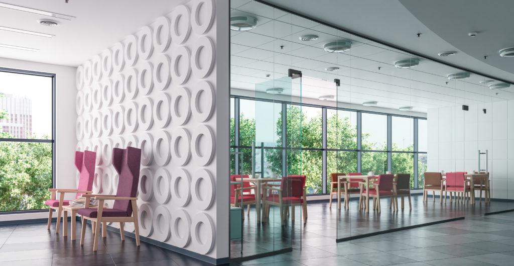 Muebles para el equipamiento de residencias geriátricas de la colección MADISON