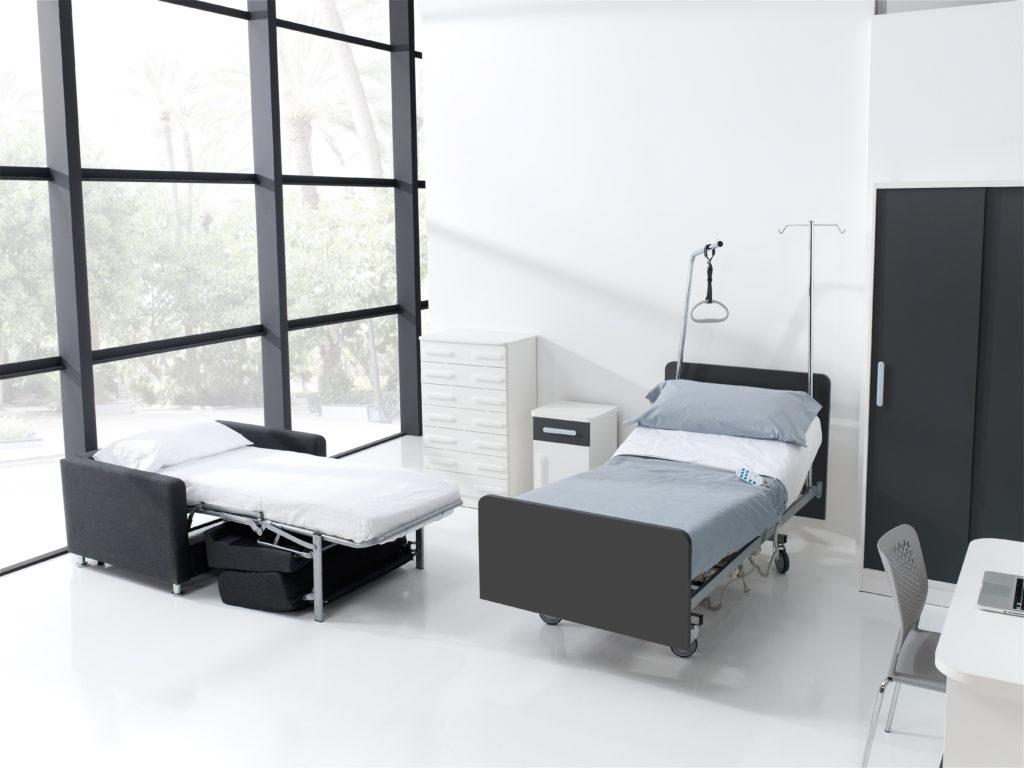 Mobiliario geriátrico de diseño moderno de la colección MAE