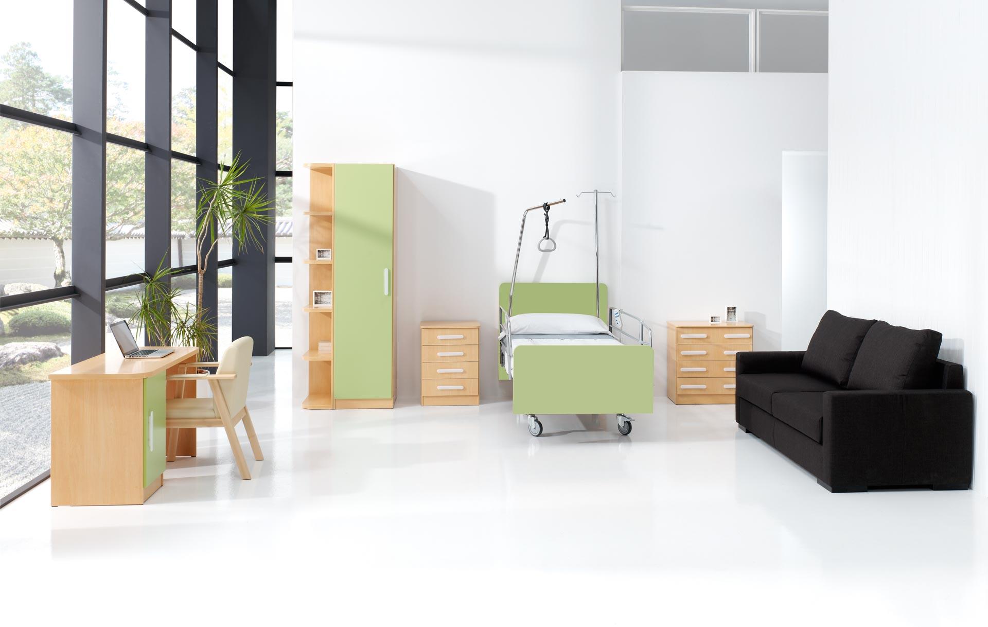 Mobiliario geriátrico de diseño moderno de SENIORCARE