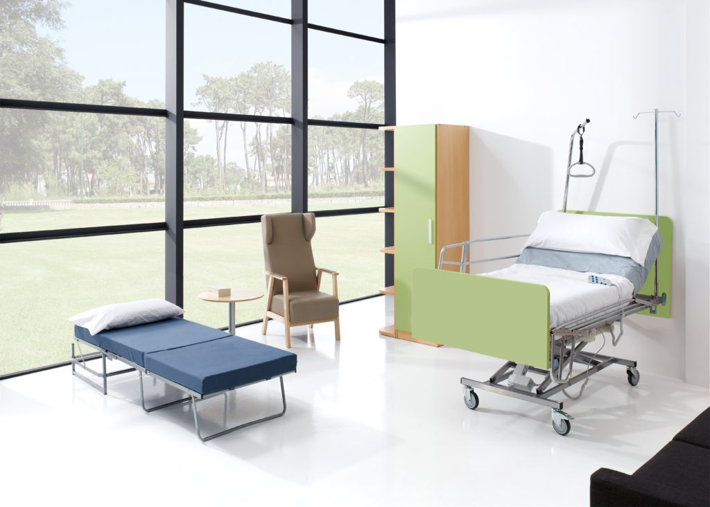 Mobiliario geriátrico de diseño moderno