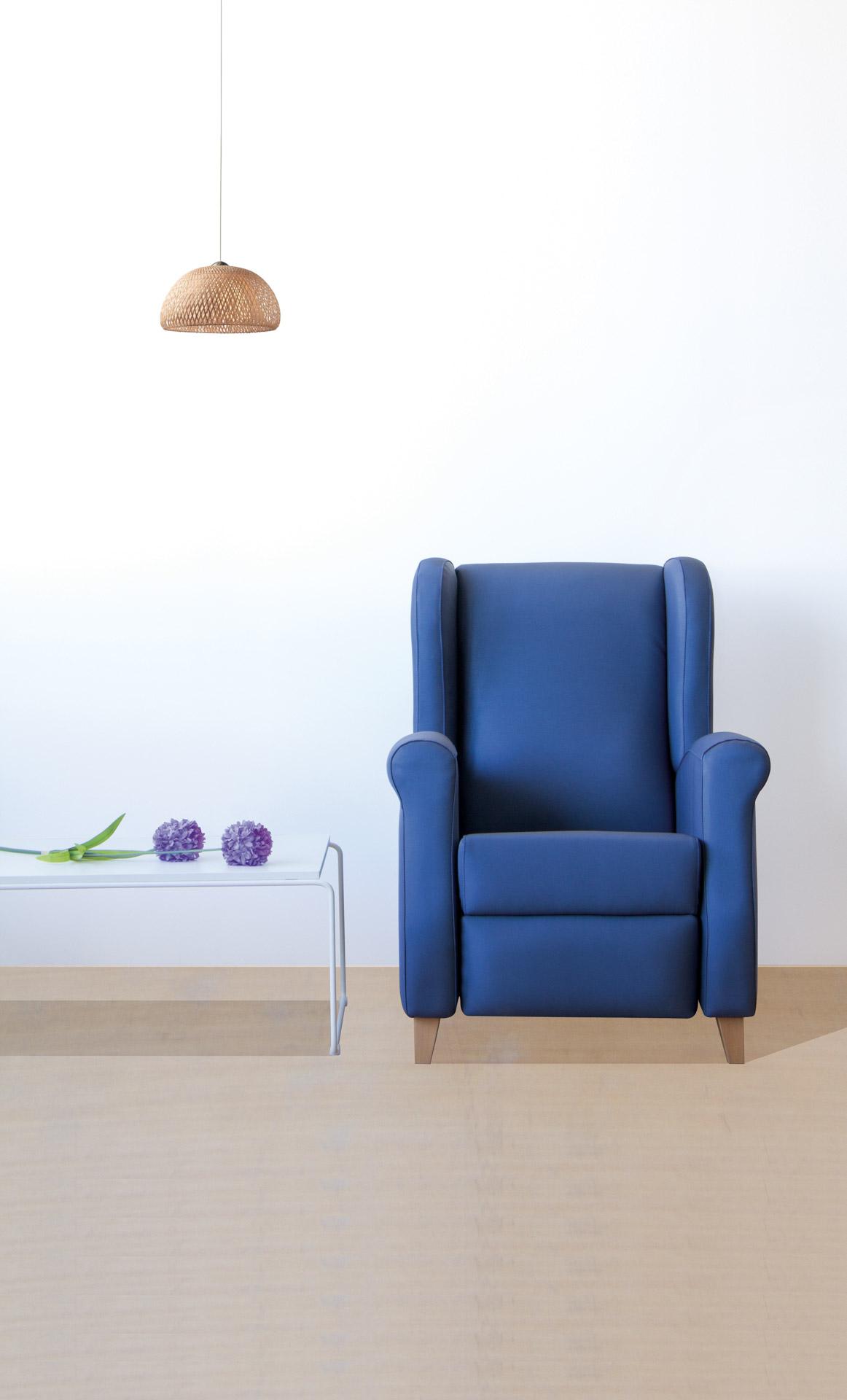 Sillón relax de diseño atemporal y elegante de SENIORCARE