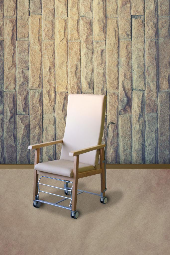 Muebles para trasladar a personas dependientes en residencias