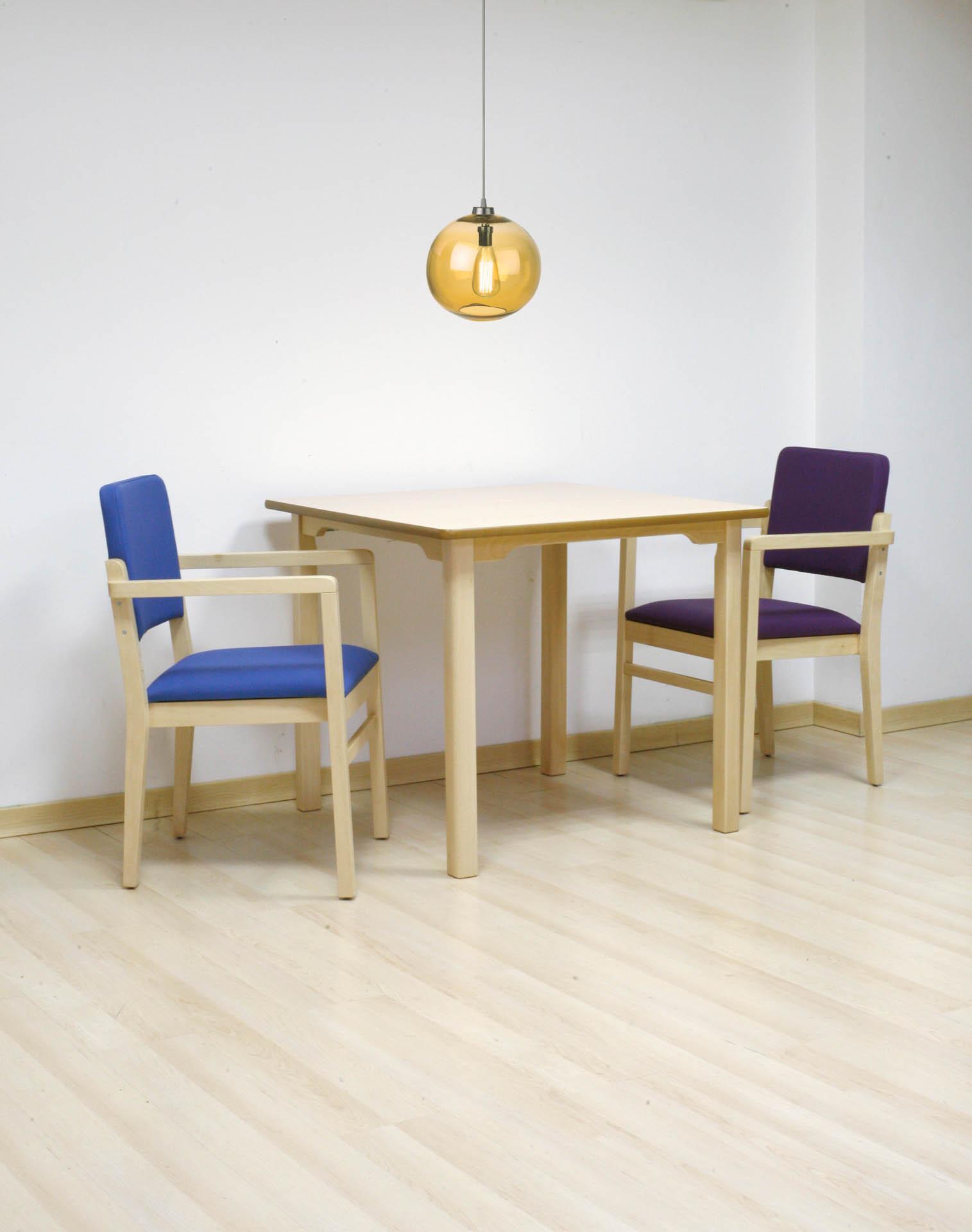 Mobiliario adaptado para personas dependientes de SENIORCARE