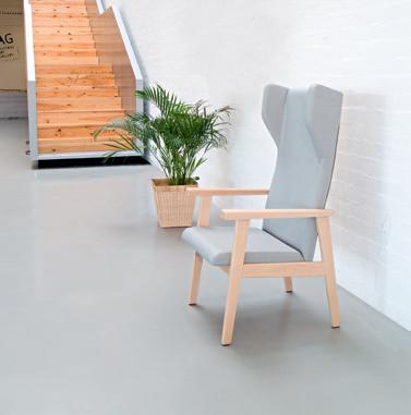 Colecciones de mobiliario para geriatría: muebles para el equipamiento de residencias geriátricas