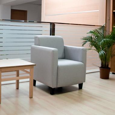 Colecciones de sillones y sofás para salas de espera, descanso o hall