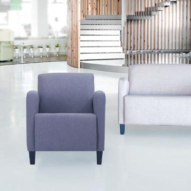 Colecciones de mobiliario para geriatría: butacas para salas de espera, descanso o hall
