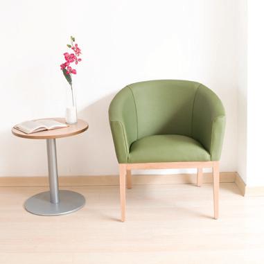 Colecciones de mobiliario para geriatría: sillón individual para personas mayores