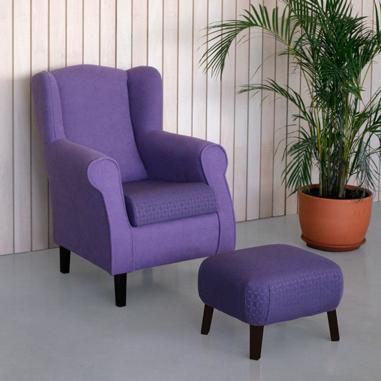 Colecciones de mobiliario para geriatría: sillones para residencias y mecedoras