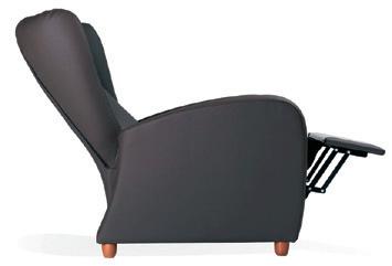 Colecciones de mobiliario: sillón geriátrico reclinable de diseño refinado y elegante