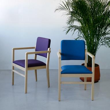 Colecciones de mobiliario para geriatría: sillón para residencias e instalaciones hospitalarias
