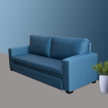 Sofá cama hospitalario de una de las colecciones de mobiliario para geriatría