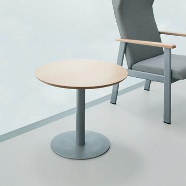 Mesa para sala de espera de las colecciones de mobiliario para geriatría.