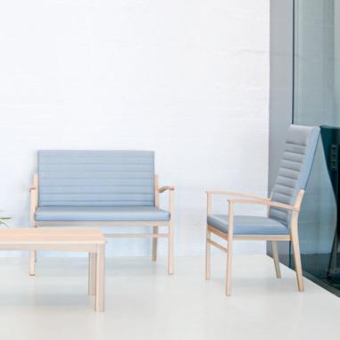 Colecciones de mobiliario para residencias de mayores de diseño nórdico