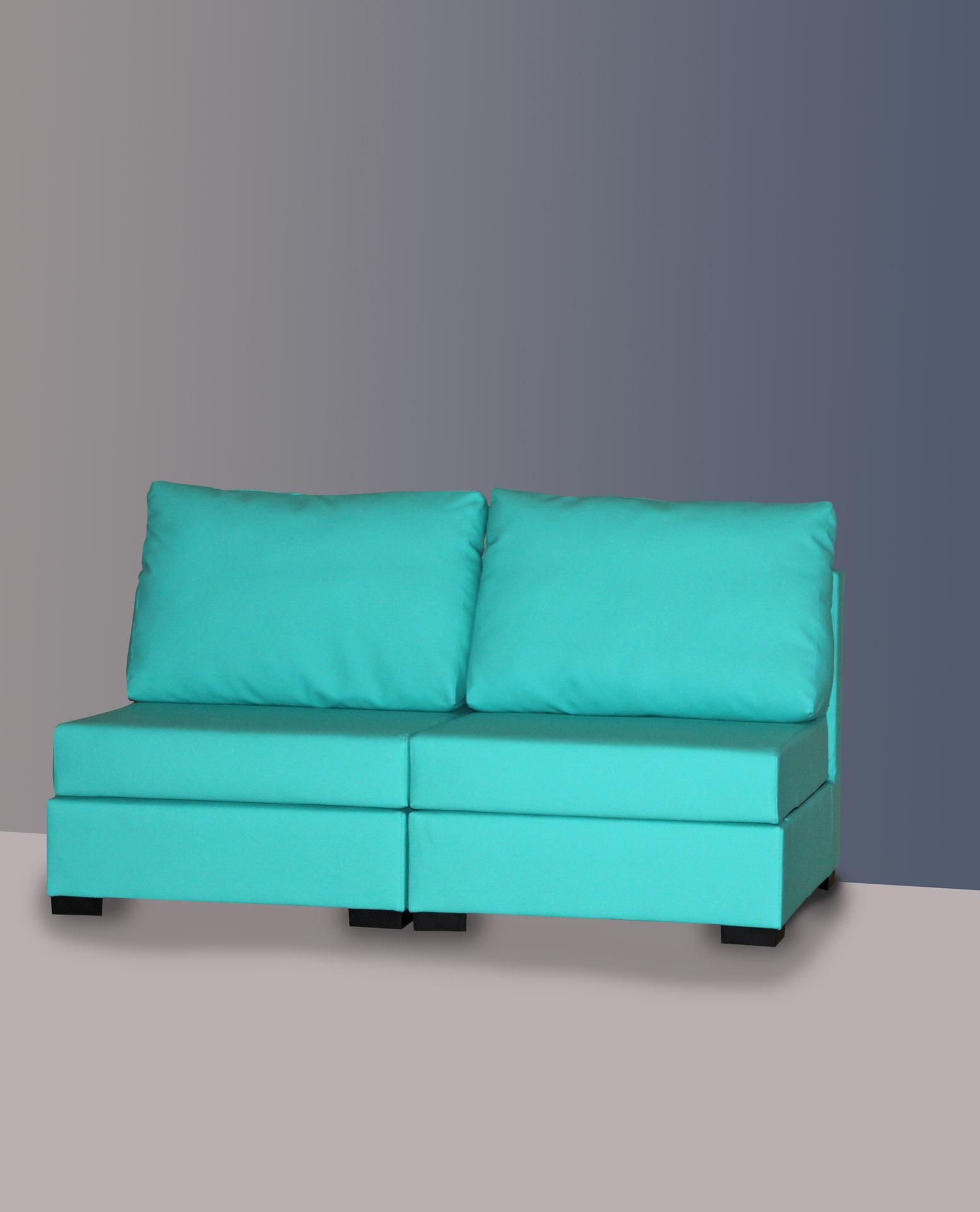 Sofás para geriátricos y residencias de diseño sencillo
