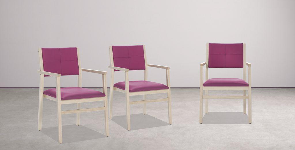 Mobiliario para geriátricos y sillas adaptadas