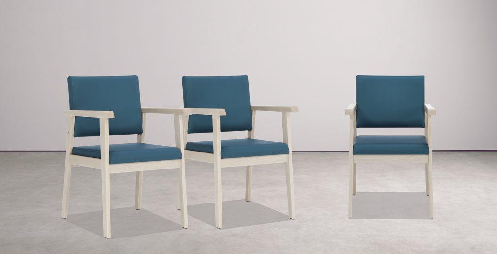 Mobiliario para geriátricos y sillas de la colección MADISON
