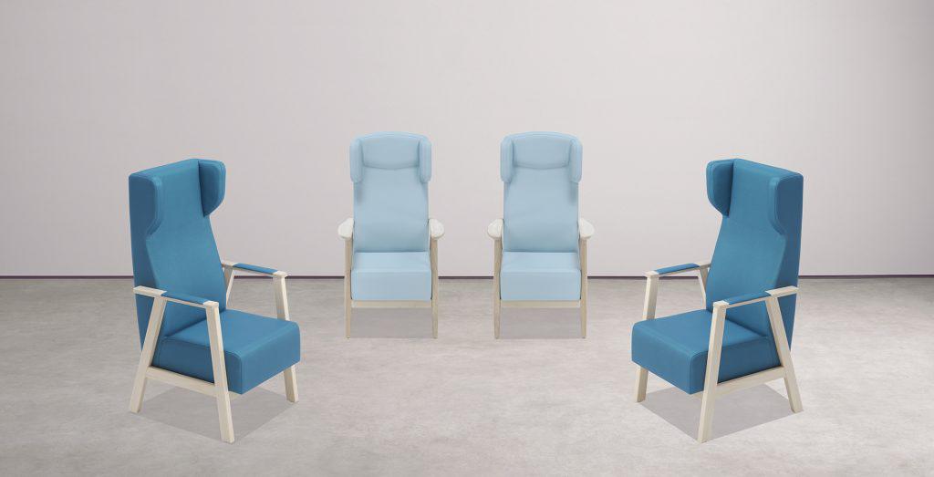 Mobiliario para geriátricos y residencias