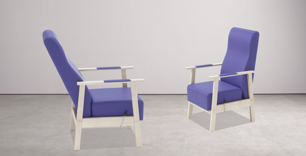 Sillones y mobiliario para geriátricos