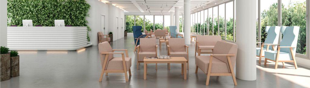 Equipamiento y mobiliario para geriátricos e instalaciones hospitalarias Seniorcare