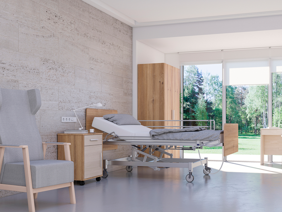 Seniorcare, mobiliario para geriatría